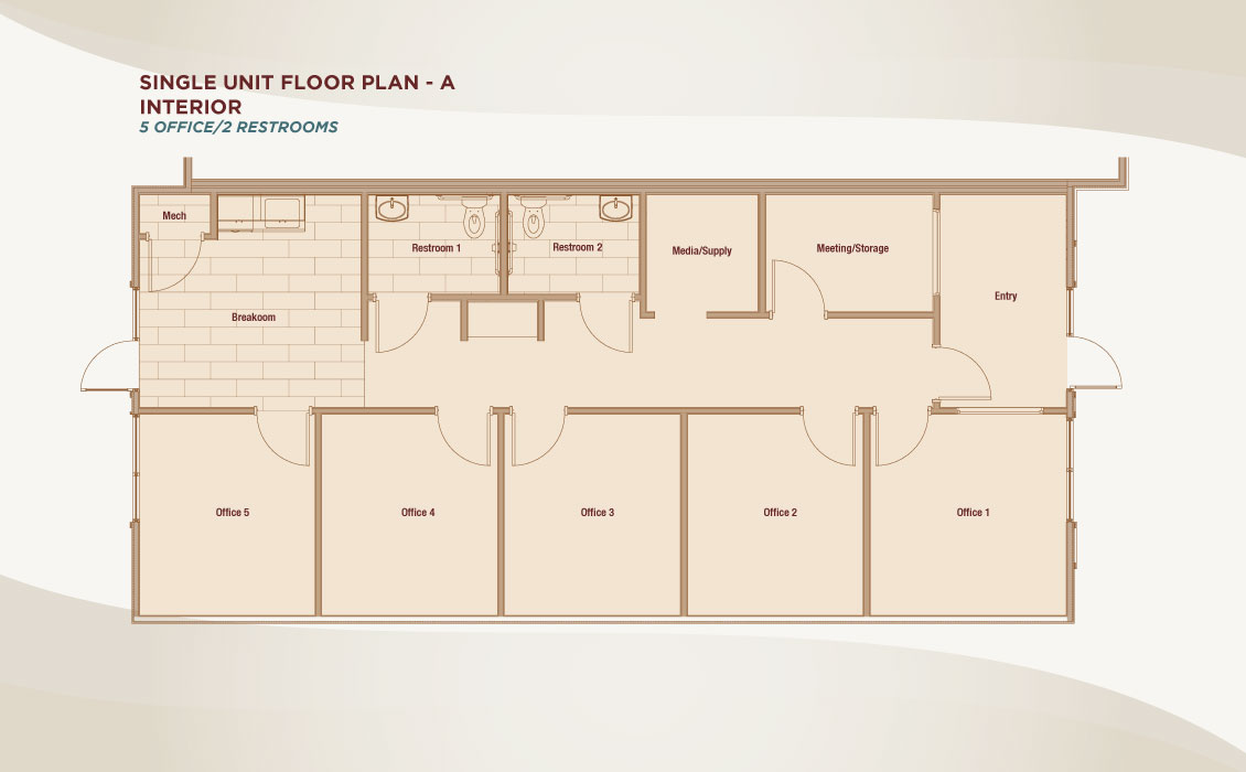The Offices at Dry Creek Floor Plan A
